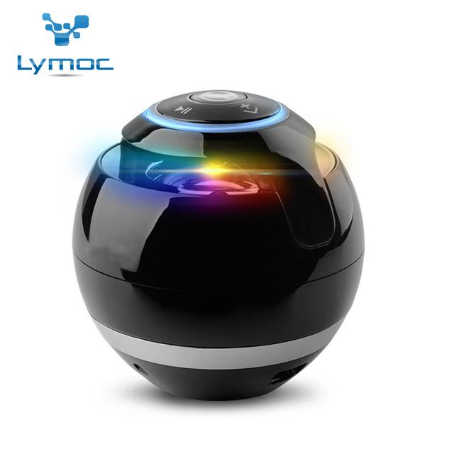 Lymoc caliente bs009 led mini bluetooth altavoz inalámbrico bluetooth altavoz portátil mini caja de sonidos del altavoz de música estéreo de altavoces