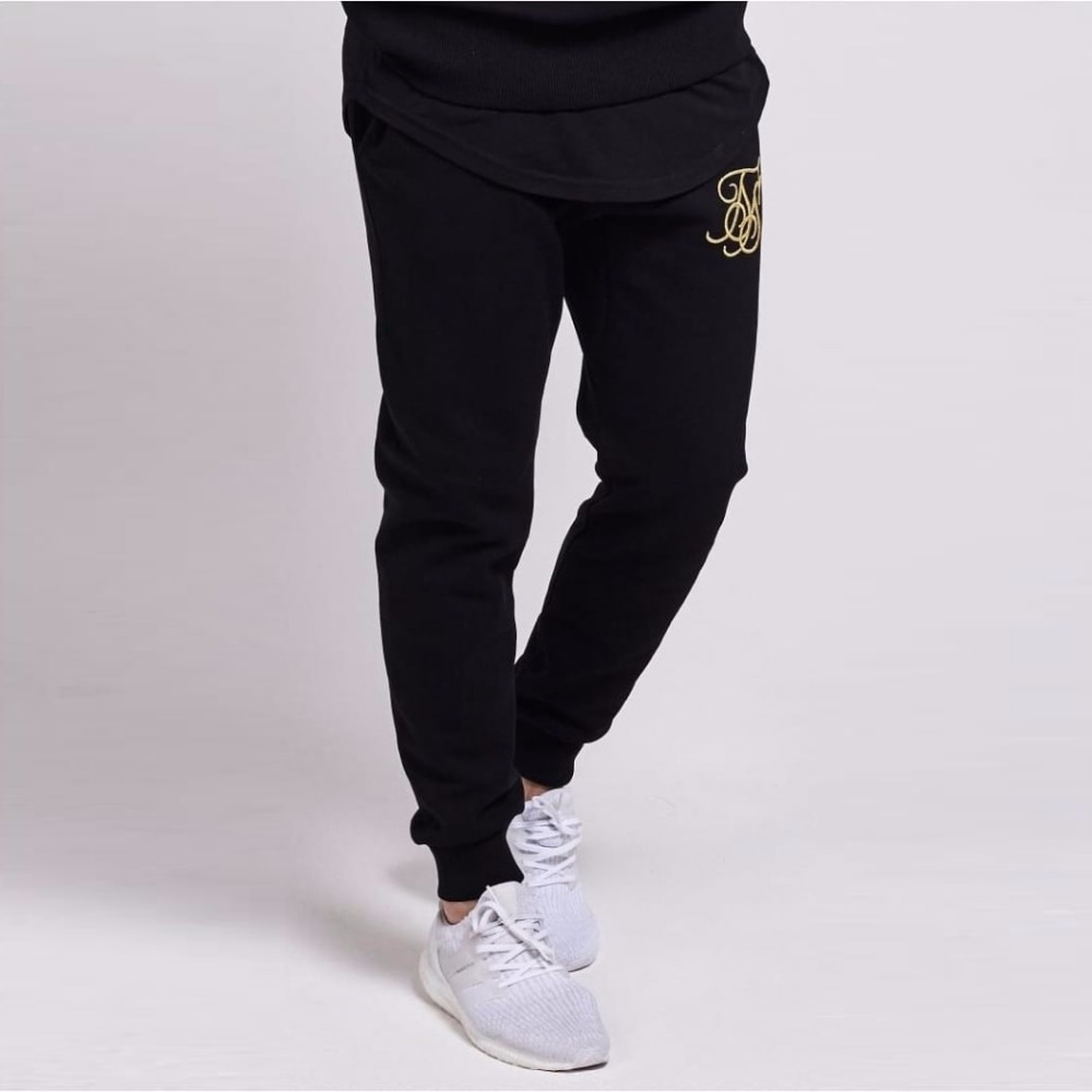 New Brand Sik Silk Gyms Men Joggers Casual Men Sweatpants Joggers Pantalon Homme Trousers Sporting Clothing Bodybuilding Pants