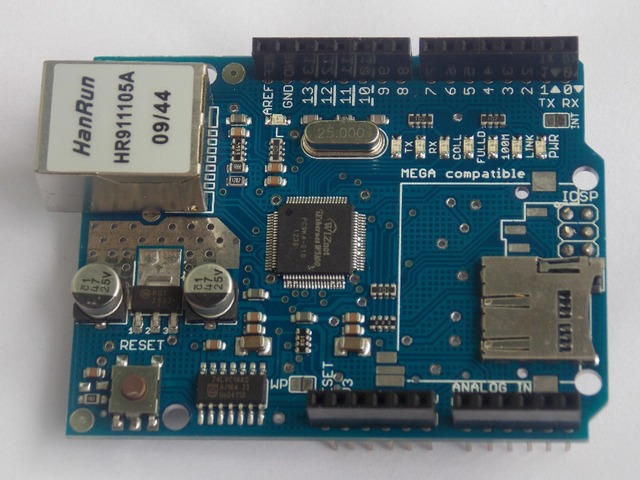 Shield Ethernet Shield W5100 R3 UNO Mega 2560 1280 328 UNR R3 < only W5100 Development board FOR arduino