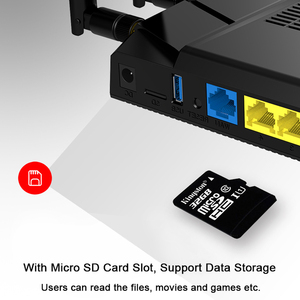 Image 3 - 3g 4g נתב ה sim כרטיס עם 4g מודם wifi עם כרטיס ה sim חריץ lte נתב 4 * 5dbi רווח גבוה אנטנות gigabit נתב MT7621 ערכת שבבים