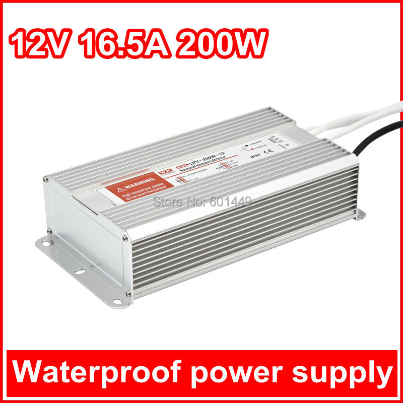 ФОТО Electrical Equipment & Supplies> Power Supplies> Switching Power Supply>  LED Wateproof Series >LPV-200W-12V