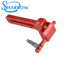 Compound Bow Arrow Rest  Aluminum Alloy Arrow Hand Adjustable Arrow Rest For Compound Bow Training Shooting Archery Accessories compound bow press aluminum archery accessories for adjusting compound bow red color