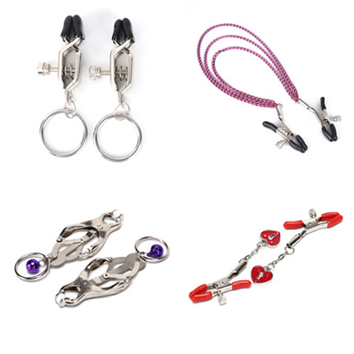 1 Pair /1pcs Nipple Clamps Exotic Accessories Metal Bell Nipple Clamps With Chain Clips