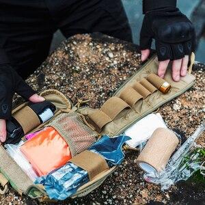 Image 3 - OneTigris Sơ Cứu Chấn Thương Bộ Y Tế Nhanh Chóng Tháo Rời EMT/Sơ Túi Chiến Thuật Cordura Nylon Multicam Chấn Thương Túi túi