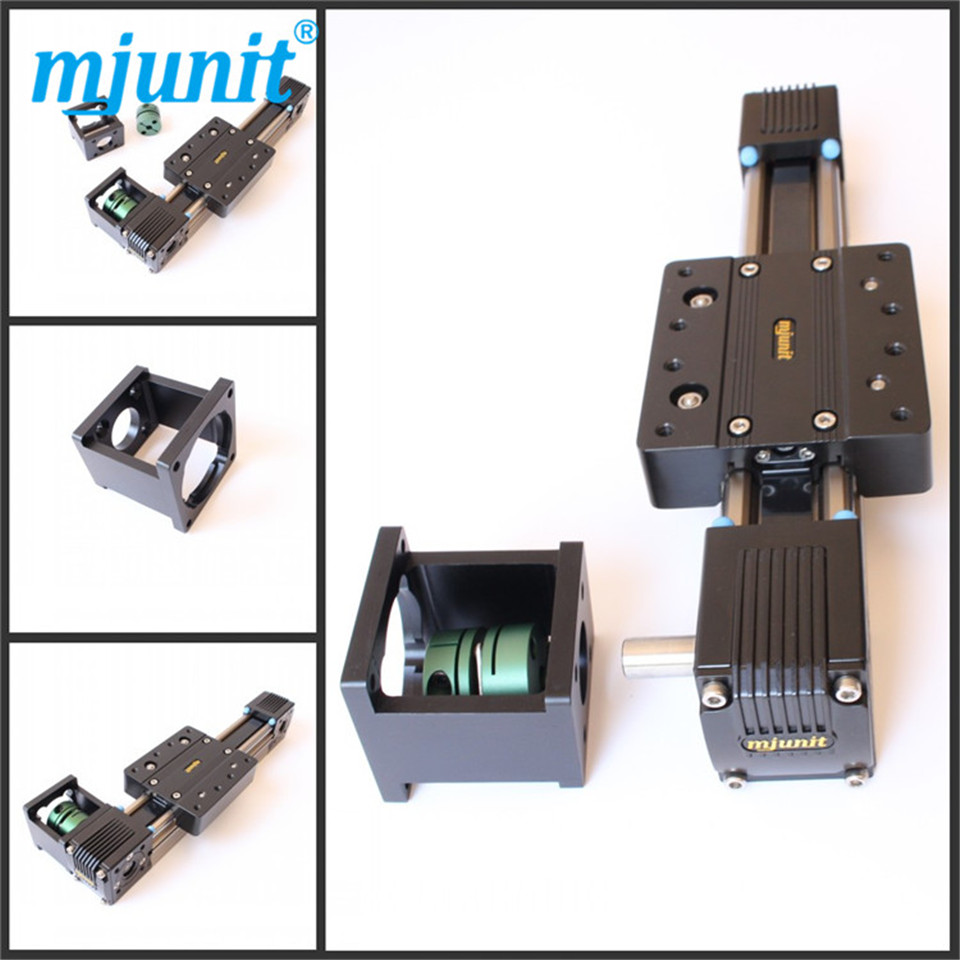 Linear Belt Driven Actuator Linear Guides Robot Belt Drive Linear Actuator 1000mm Travel or any Travel belt driven guided linear actuator any travel length linear motion motorized linear stage heavy duty belt driven stage
