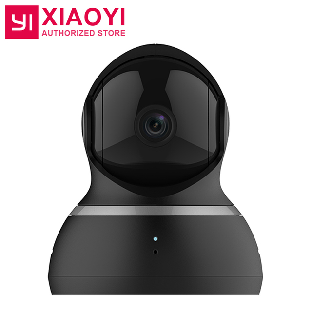 "[International Edition] Xiaomi YI Dome Camera 1080P 112"" Wide Angle 360"" View Pan-Tilt Control Night Vision 2 Way Audio Webcam"