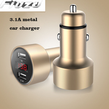 Display metal car charger For Iphone 11 pro max 5s 6s 7 8plus Phone Charger for Huawei p30  P20 P10pro  P30 pro lite phone цены