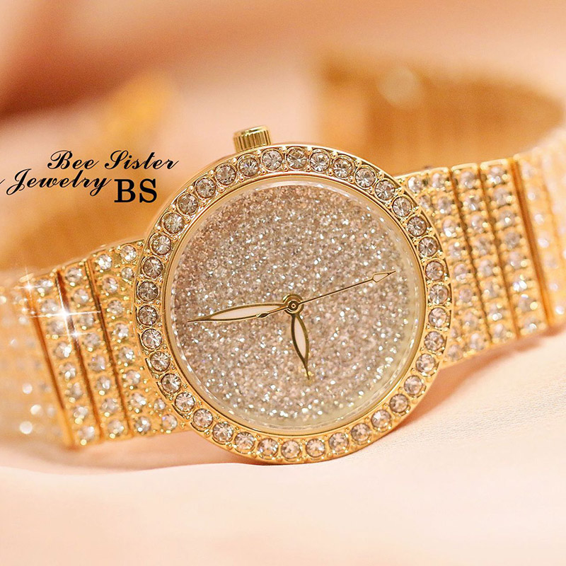 Relogio feminino Top Brand Watch Quartz Ladies Gold Fashion Wrist Watches Diamond Women Wristwatch Girls Female Clock Hours ZDJ