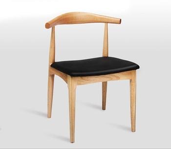 Krzesła hotelowe meble hotelowe meble handlowe żelaza z litego drewna w stylu europejskim nowoczesny 80*40*40 cm hurtownie hot new 2018 tanie i dobre opinie Krzesło hotelowe Meble komercyjne Nowoczesne Ecoz 53*49*77cm
