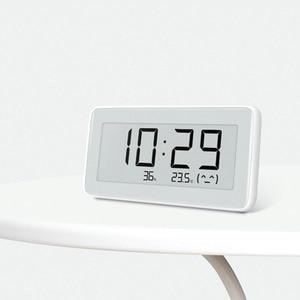 Image 2 - חדש שיאו mi mi jia Bluetooth טמפרטורת Hu mi dity חיישן E קישור LCD מסך דיגיטלי מדחום לחות מד חכם הצמדת mi APP