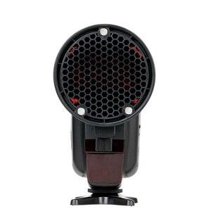 Image 4 - TRIOPO MagDome couleur filtre, réflecteur, nid dabeille, diffuseur boule Kits pour GODOX tt600 TT685 V860II YN560III/IV Flash VS AK R1