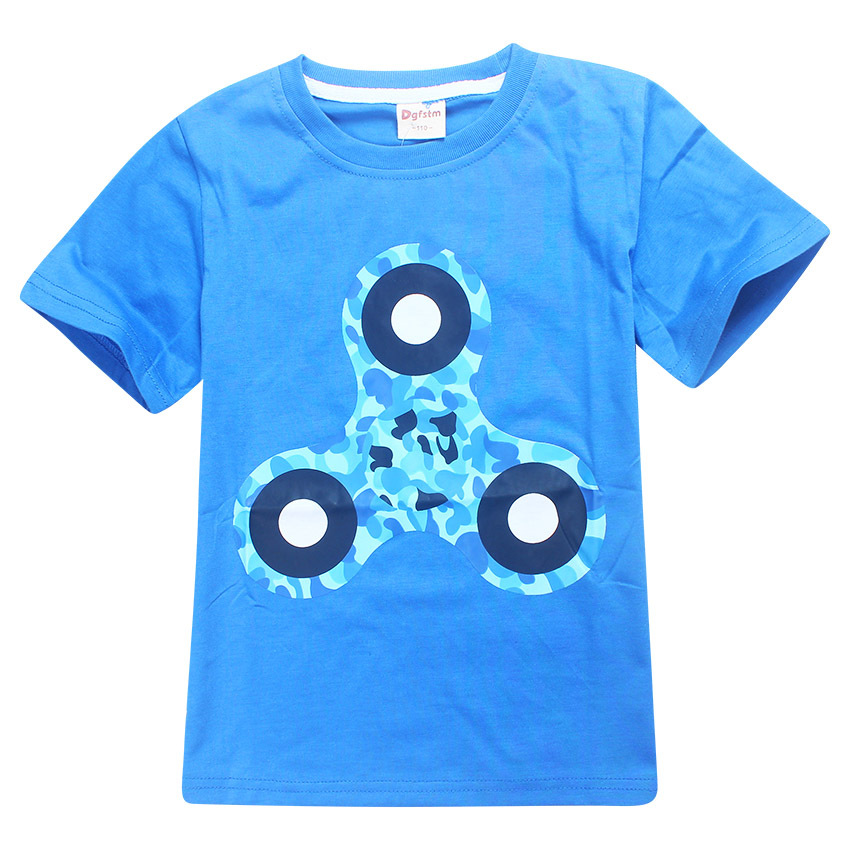 2017 Superhero Superman Batman T Shirt Children boy with Super hero girl TShirts Tees for kids fidget spinner Boys T-shirt