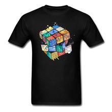 マジックキューブ寿命 Tシャツ男性と女性おかしいクール tシャツビッグサイズ S XXXL 米国サイズ