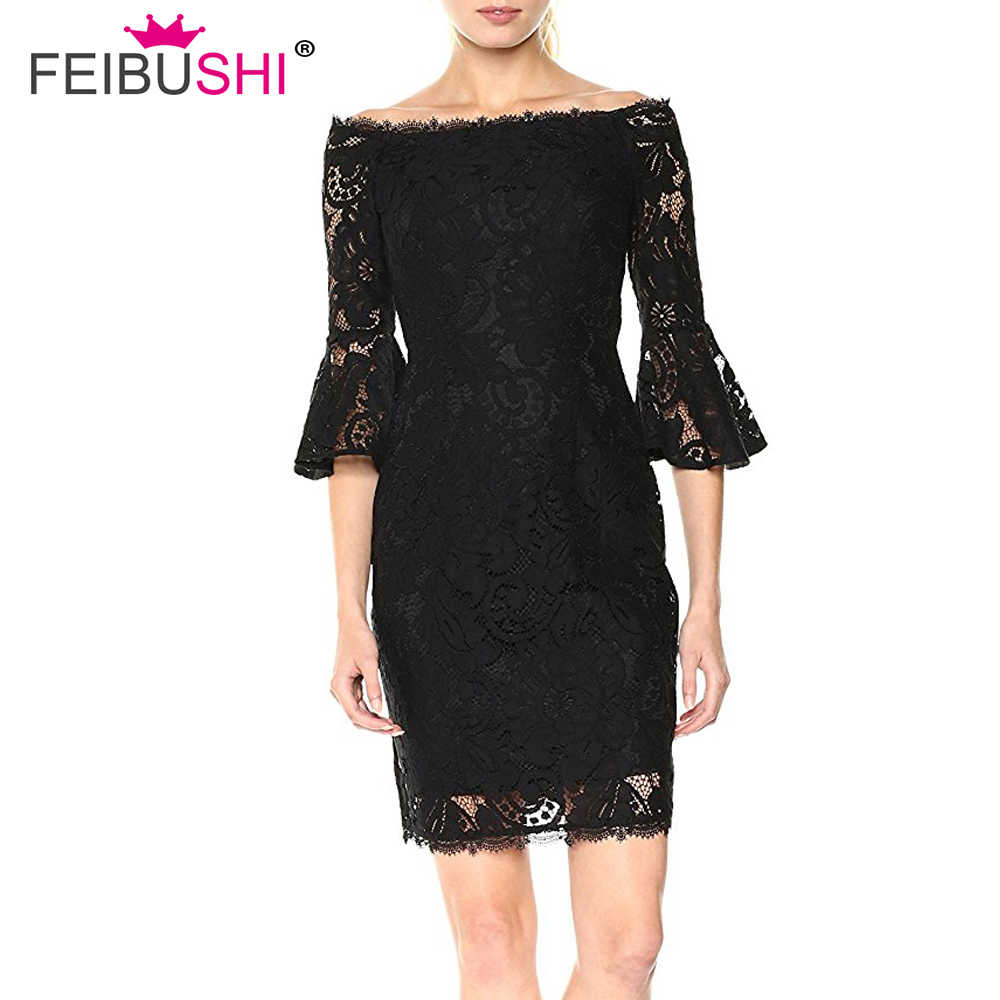 0702a6b59073 Lace Dresses Women Vintage Off Shoulder Dresses Short Sleeve Casual Evening  Party Plus size Dress
