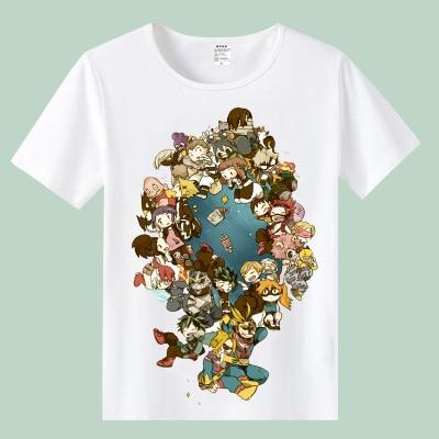 Anime My Hero Academia T shirt Boku no Hero Academia Cosplay Costumes Midoriya Izuku Bakugou Katsuki Todoroki Top Tee T-shirt