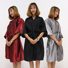 New Hair Cutting Hairdressing Cloth Barbers Hairdresser Large Salon Adult Waterproof Cape Gown Wrap Hairdresser Cape Gown Wrap