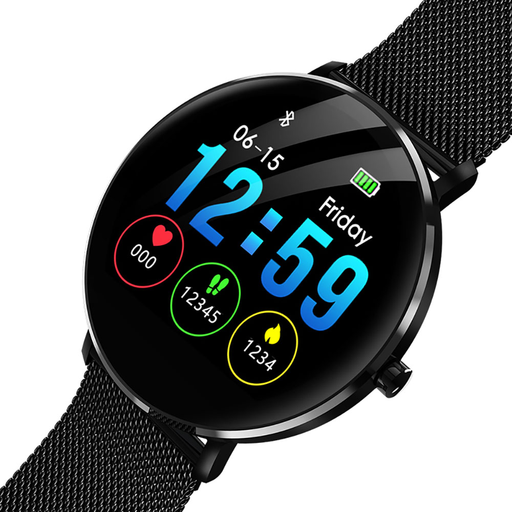 L6 หน้าจอแบบเต็มหน้าจอทินเนอร์สมาร์ทนาฬิกา IP68 กันน้ำบลูทูธสมาร์ทสร้อยข้อมือ Heart Rate Pedometer ว่ายน้ำ Smartwatch-ใน นาฬิกาข้อมืออัจฉริยะ จาก อุปกรณ์อิเล็กทรอนิกส์ บน AliExpress - 11.11_สิบเอ็ด สิบเอ็ดวันคนโสด 1