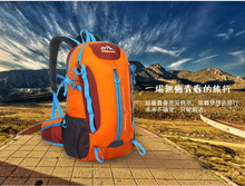 2016 Professional Outdoor Climbing backpack Hiking waterproof Male Female travel Sport Shoulders Mountaineering Bag 38L Hot Sale