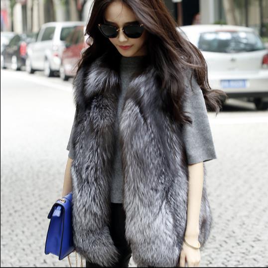 D'hiver Veste Fourrure Taille Z316 Femme Artificielle De 2019 En Manteau Grande Gilets Vestes Femmes Gilet Faux Chaud Nouveau 8y5AUqpU