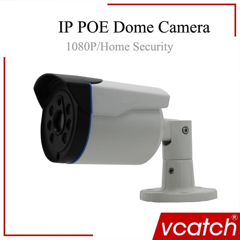 Vcatch 1080p IP Camera Network CCTV H.264 Waterproof Camera Support ONVIF /POE /Audio/Low illumination POE CAMERA Security waterproof ip66 support p2p onvif network security camera h 264 720p dome ip camera poe manual zoom ip camera outdoor
