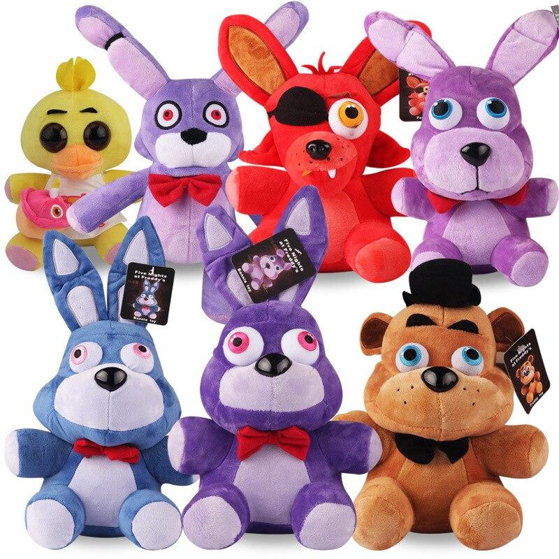 25cm Fnaf Plush Toys Five Nights Freddy Doll Golden