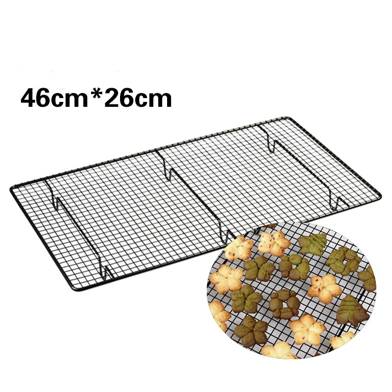 carbon steel nonstick cooling rack cooling grid baking tray for