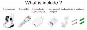 Image 5 - Mini caméra de Surveillance IP Wifi hd 1080P, dispositif de sécurité domestique sans fil, avec Vision nocturne, codec H.265, application ICSEE