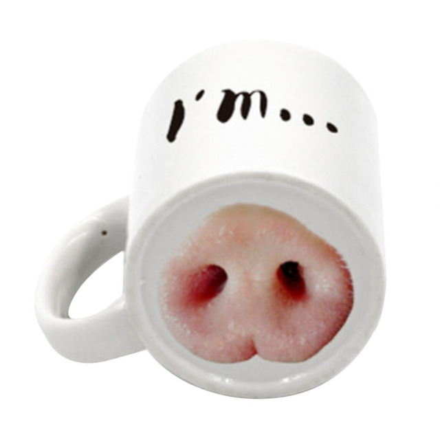 brixini.com - Dog & Pig Nose Mugs