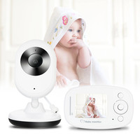 Promotional wireless 2.4 Inches LCD 2 Way Audio Talk Night Vision Video IP Security Surveillance Mobile Baby Camera Monitor