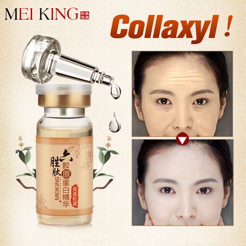 MEIKING Argireline Liquid Siero Crema anti-rughe anti-invecchiamento 10g Blemish Cream Cura della pelle Collagen Essence Moisture Day Cream