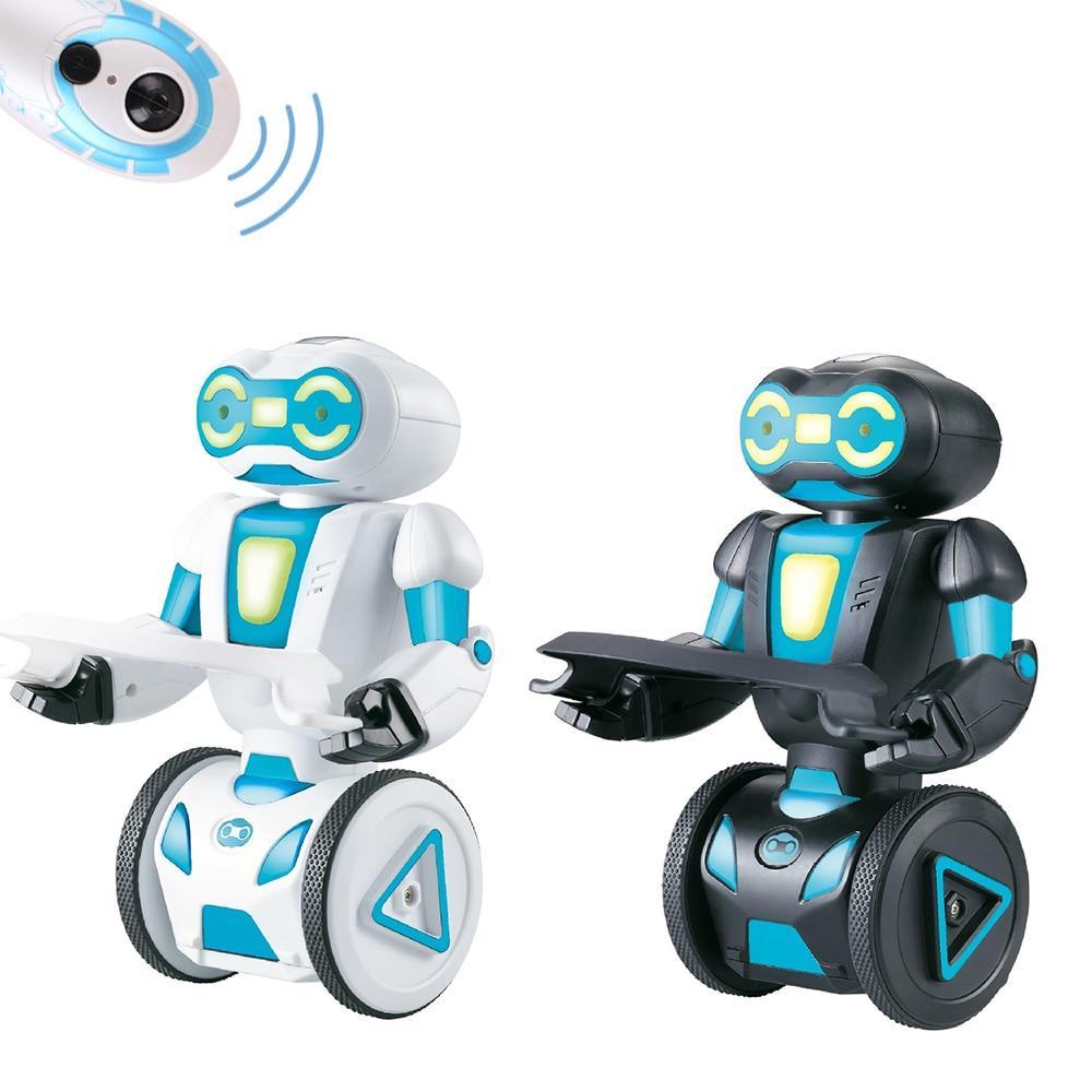 5 Modes de fonctionnement Vocal RC Robot Programmation Intelligente Télécommande Jouets Pour Enfants Enfants Cadeau D'anniversaire Électronique Jouets