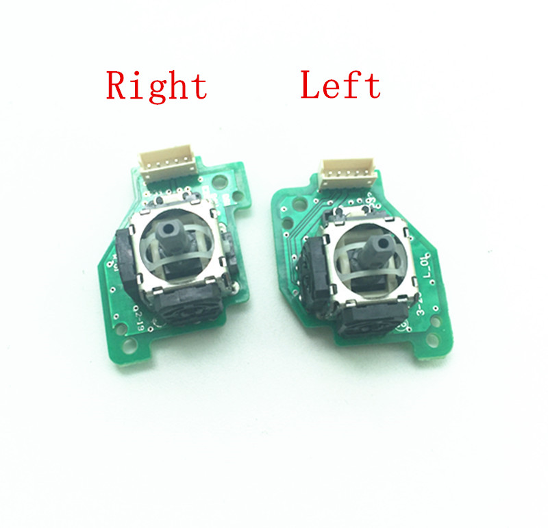 Right Or Left <font><b>3D</b></font> Analog Stick Joystick with <font><b>PCB</b></font> Board for Wii U Gamepad Controller WIIU image