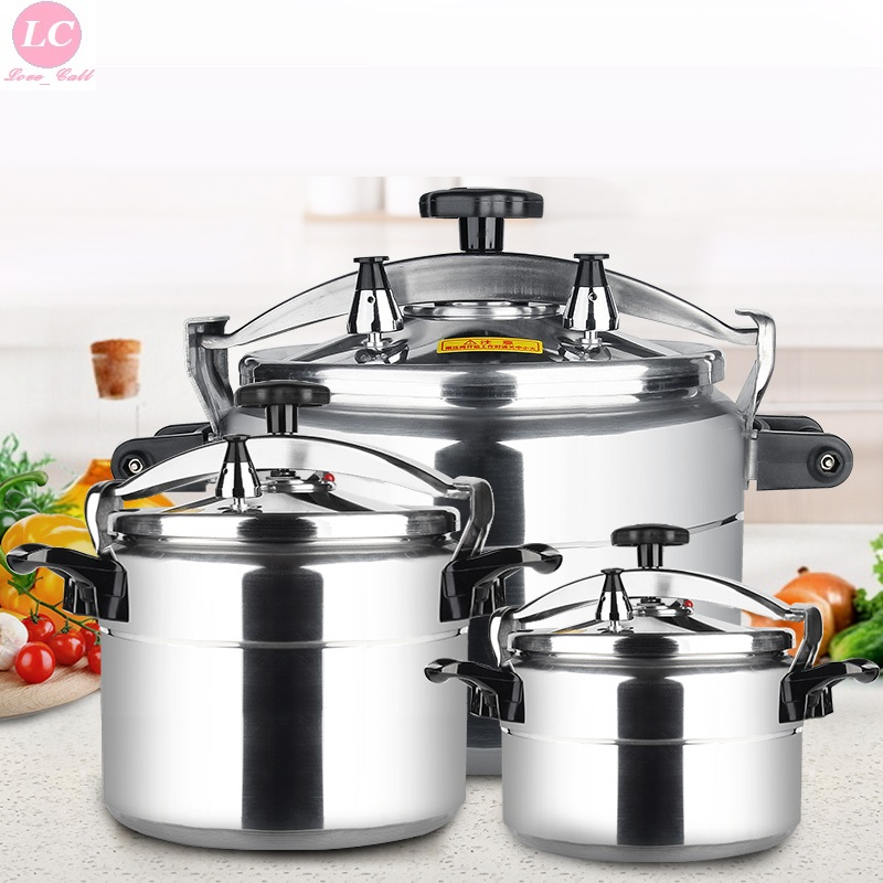 Pressure Cooker 3 33L Home Commercial Large Capacity Gas Cooker Auminium Pressure Cooker Stew Pot Kitchen