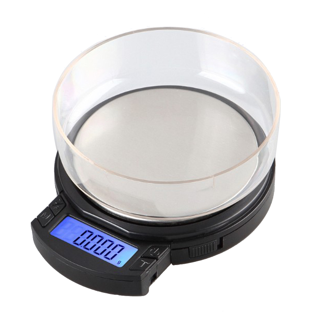 ФОТО 100g 0.001g Electronic Digital Diamond Jewelry Scale Smart High Precision Pocket Scales Weighing Balance LCD Display Scale Case