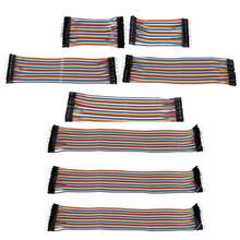 5 pcs 40 Pins Dupont 10/20/30 ซม. บอร์ด PCB Breadboard Jumper Cable Dupont ลว(China)
