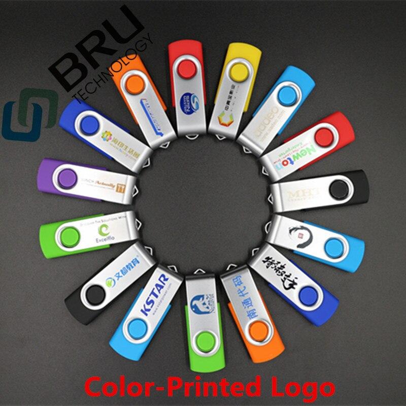 Lecteur flash USB BRU 32 Go 64 Go pour cadeau Logo personnalisé - Stockage externe - Photo 5
