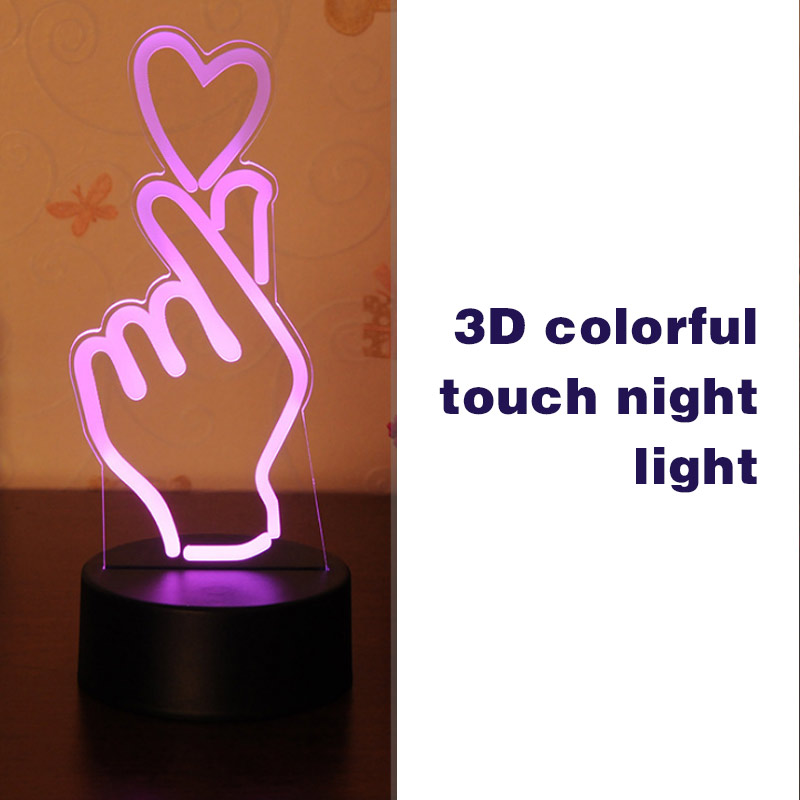 Self-Conscious 5w 3d Usb Love Heart Led Night Light Romantic Lamp Wedding Party Decor Valentine's Gifts --m25 Relieving Rheumatism And Cold