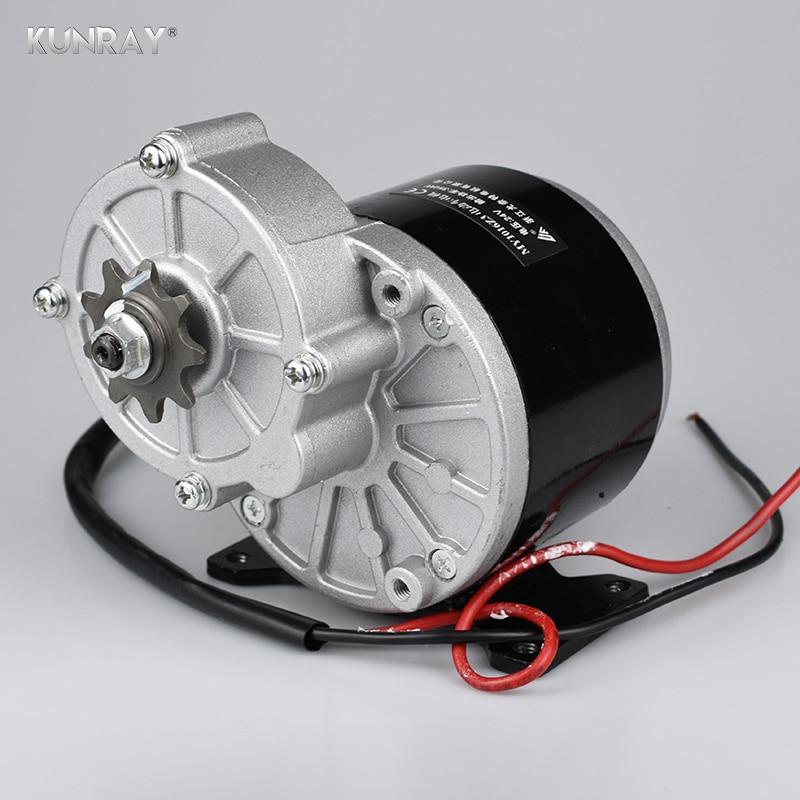 UNITEMOTOR MY1016Z3 350 W 24VDC Gear Spazzolato Motore Bicicletta A Motore Elettrico DC Spazzolato Decelera Motore Per 20-28