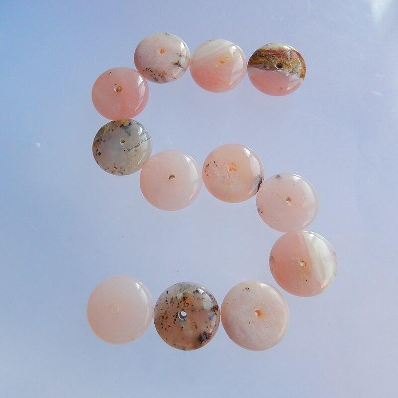 Grade Smooth Pink Opal Gemstone Opal Pink Stone 22x20x4 mm Smooth Cabochon Pink Opal Gemstones Cushion Gemstone AAA++