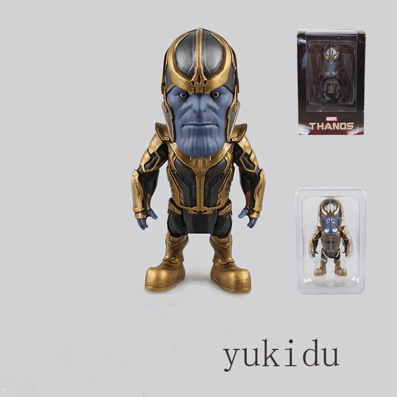 ФОТО marvel guardians of the galaxy thanos action figures pvc model toys box packaging