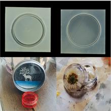Small round box silicone mold resin molds DIY storage box jewelry manufacturing process resin molds for jewelry cheap Jewelry Tools Equipments 0inch M778111 GLADZGT Environmentally friendly
