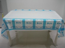 A Little Baby Girl Boy theme PE Table Cloth for kids happy birthday party decoration tablecover Event Party Supplies 180*108cm