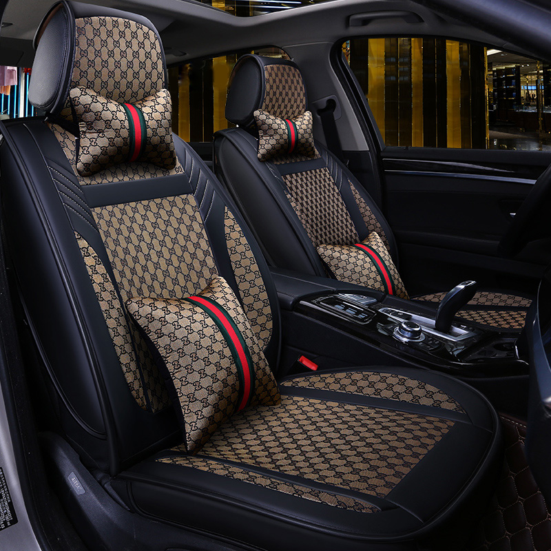 Car Seat Cover Covers Auto Interior Accessories for Kia Borrego Cadenza Carens Carnival Ceed Cerato 2 Forte