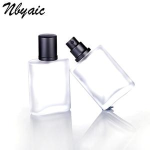 Image 2 - Nbyaic1Pcs30ml50ml100ml Frosted Glass Empty Bottle Sprayable Enough Spray Bottle Odor Travel Size Portable Reuse Perfume Bottles