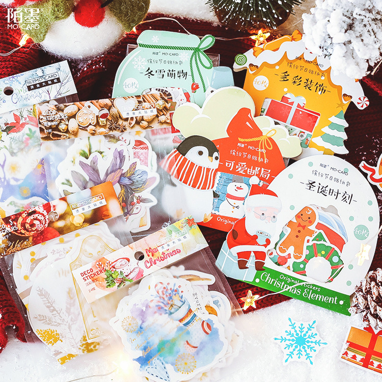 Mohamm Journal Scrapbook Paper Packs Stationery Mini Calendar Christmas StickersMohamm Journal Scrapbook Paper Packs Stationery Mini Calendar Christmas Stickers