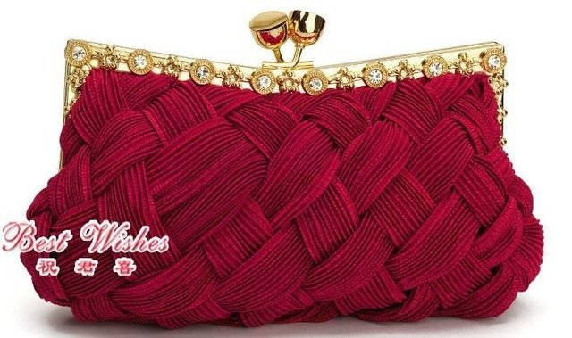 82e624b2895f WB2003-1 2010 hot sale satin colorful and beautiful bridal bags night bags  ladies  handbags evening bags