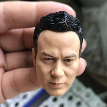 For collection 1/6 Scale Male Head Sculpt Simon Yam head Yam Tat-wah head carving Head Carvings Toys Gift for 12inches male body mnotht black male soldier head carvings model wild curl up 1 6 scale smile kobe head sculpt toys for 12in action figures m3