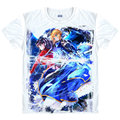 Fate stay night T-Shirt saber Archer Shirt  t shirts Anime Clothing cute lovely kawaii Shirts & T-Shirts Japanese Anime