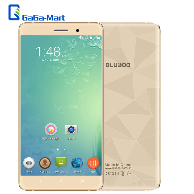 New Original Bluboo Maya Android 6.0 MT6580A Quad Core 5.5 inch Mobile Phone 2GB +16GB 13.0MP+8.0MP 1280*720 3000mAh Smartphone