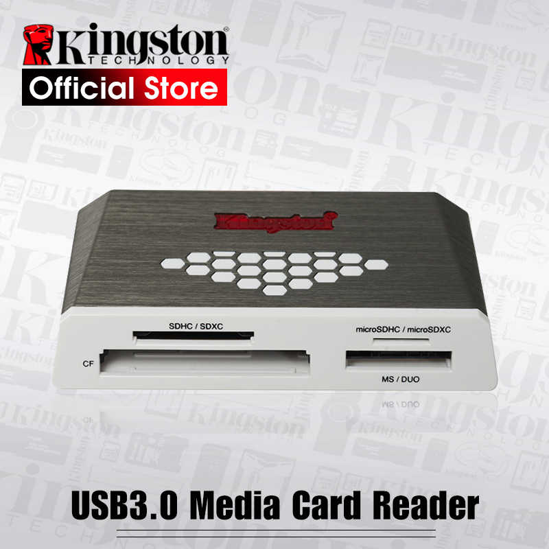 Kingston Micro SD Card Reader USB3.0 Media Reader CF TF MS SDHC/SDXC UHS-I Microsd Multi-function Flash Memory Card USB Adapte